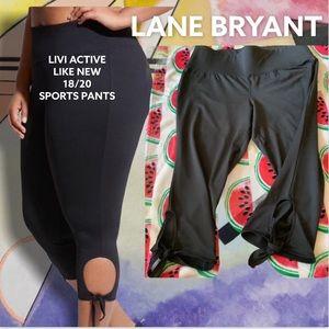 Livi Active 18/20 Black w/Side Ties Sports Pants